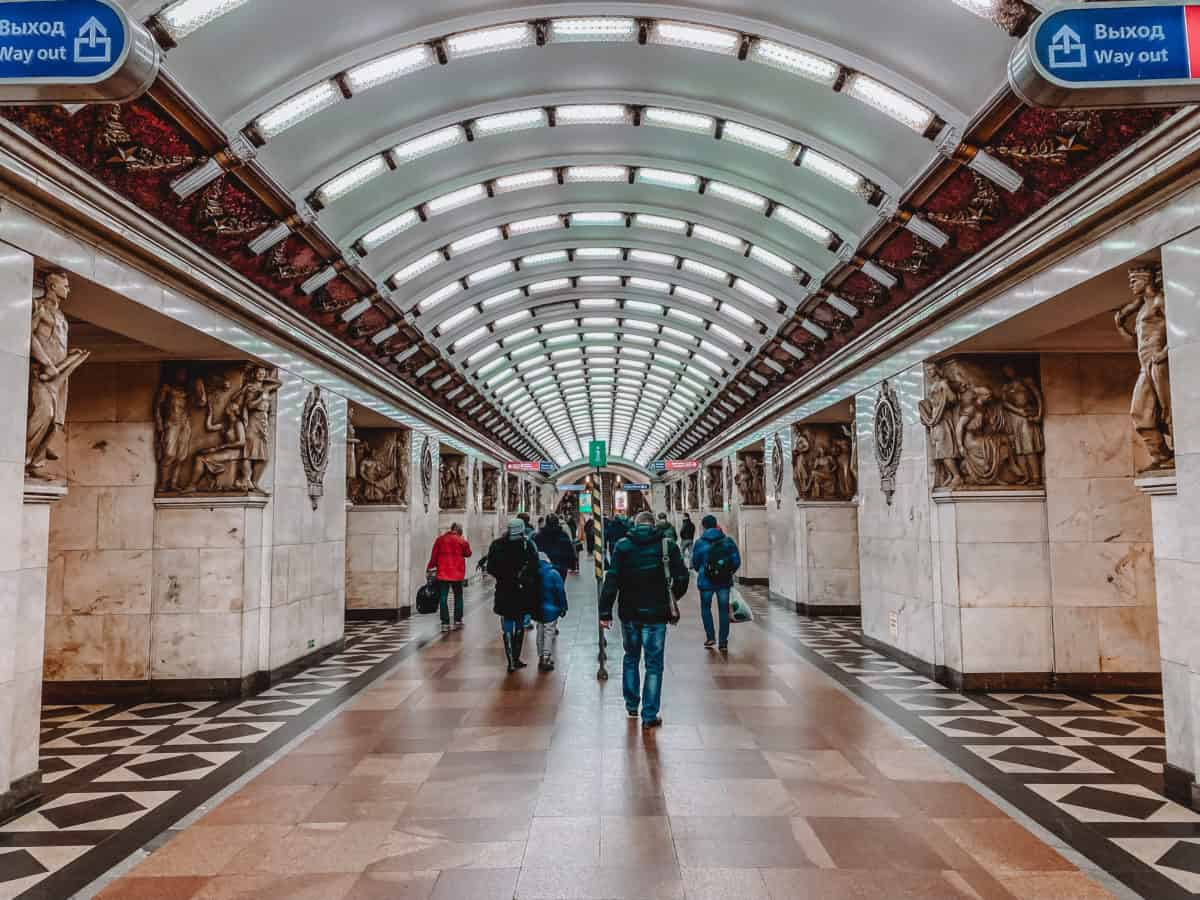 Most beautiful St. Petersburg metro stations