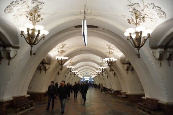 Most beautiful St. Petersburg metro stations that you need to visit