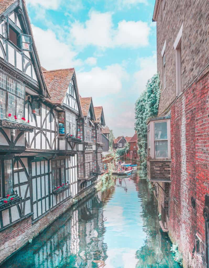 Day trip idea from London: explore medieval Canterbury in Kent
