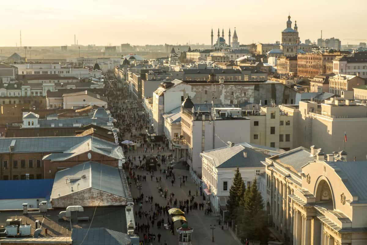Best cities to visit in Russia - Kazan