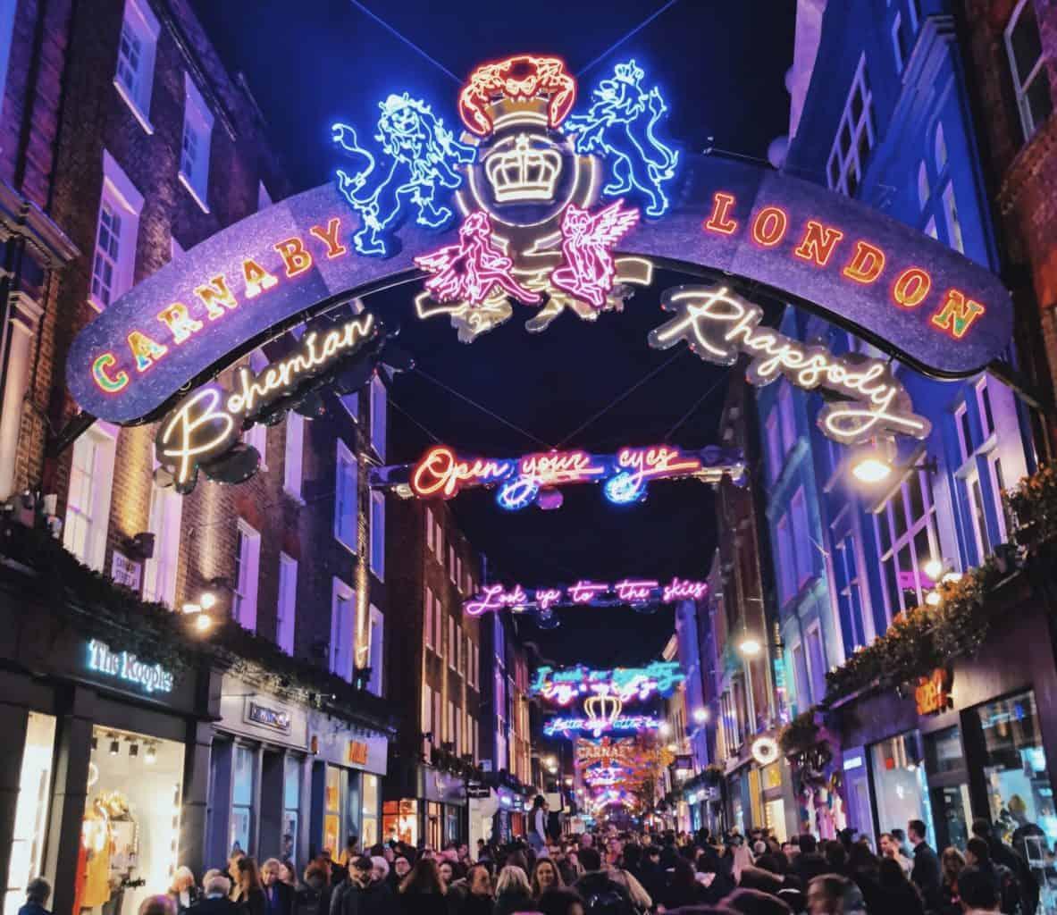 Christmas Spots in London