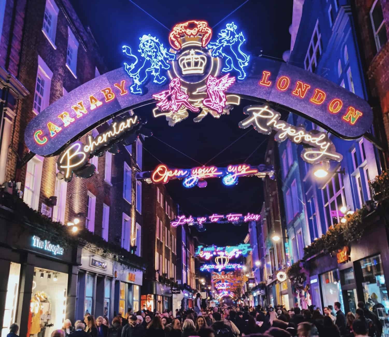 Christmas Spots in London, Carnaby