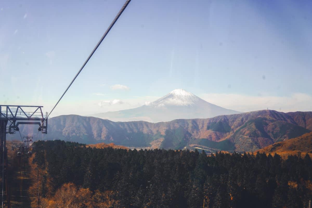 Hakone circle mount Fuji