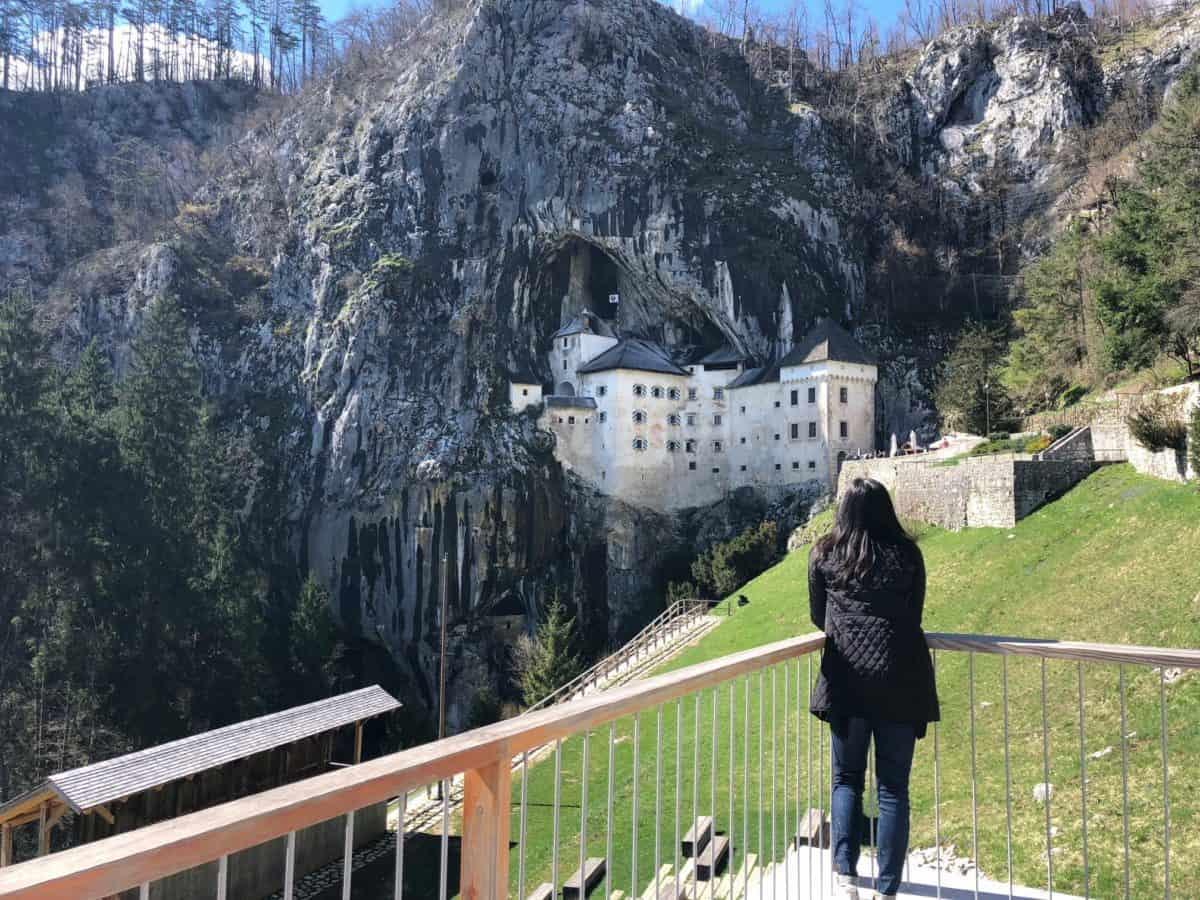 Predjama Castlen - top spots to visit in Slovenia