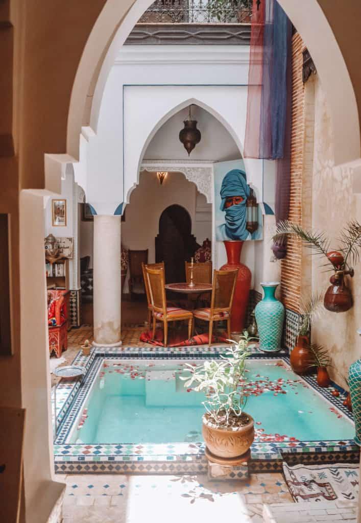 Our riad in Marrakech