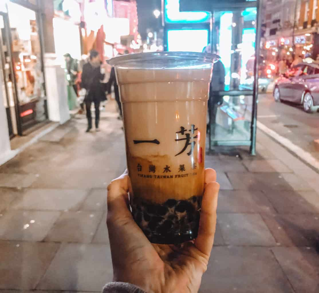 Best bubble tea in London 2019