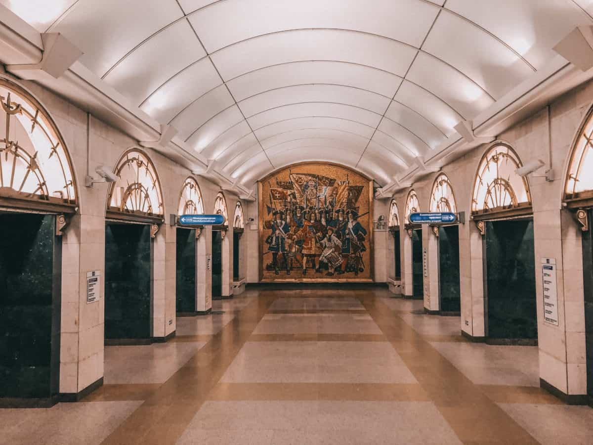 Best areas to stay in Saint Petersburg Russia