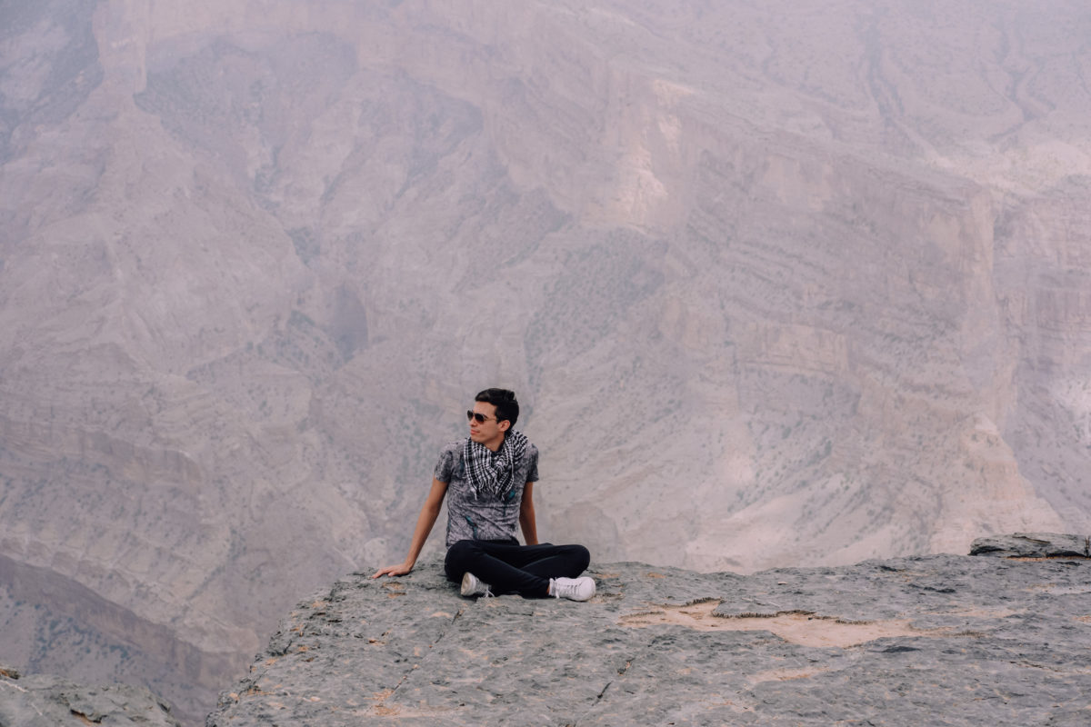 Road trip in Oman itinerary