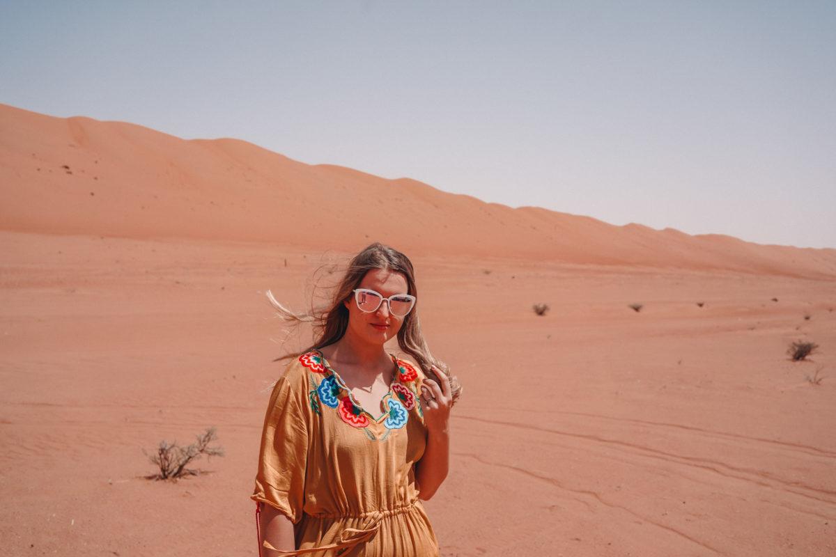 Sharqiya Sands in Oman