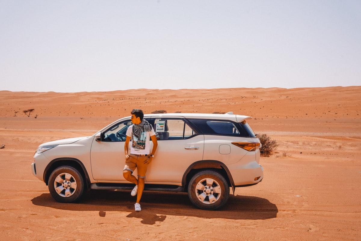 Oman road trip, 4 days in Oman