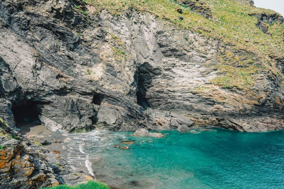 Tintagel Cownwall King Arthur's places in England