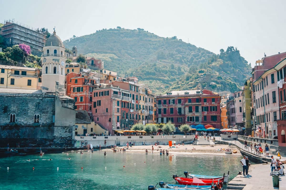 Where to swim near Pisa and Florence in Italy and the best beaches of the Cinque Terre