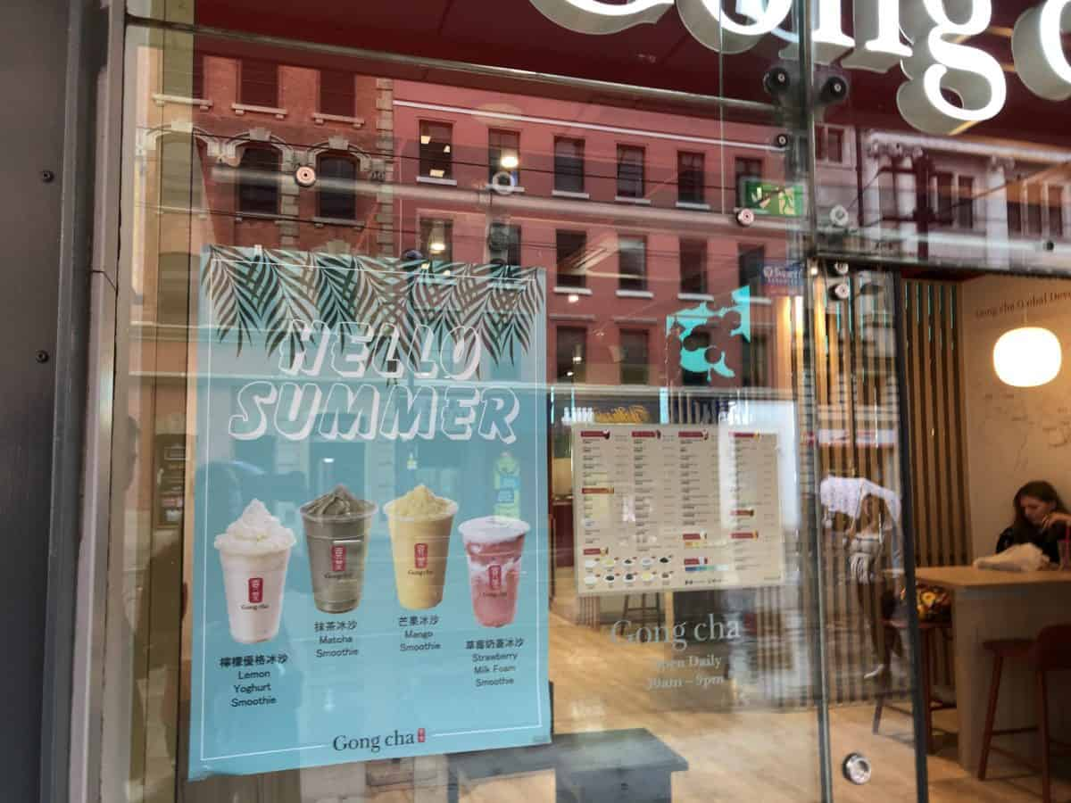 Is Gong Cha The Best Bubble Tea in Manchester? Let's Find Out