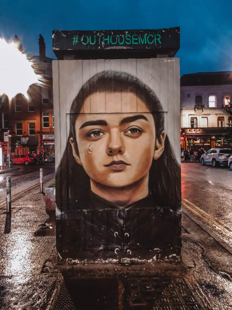 best street art in Manchester, Instagrammable spots