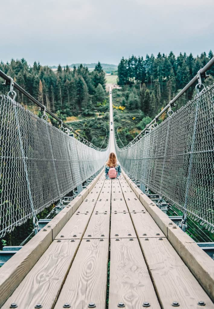 Geierlay suspension bridge