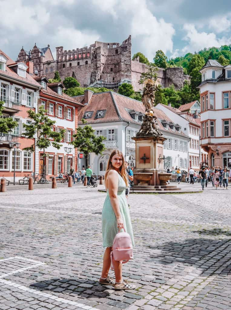 beautiful Heidelberg - best of Germany and Alsace road trip