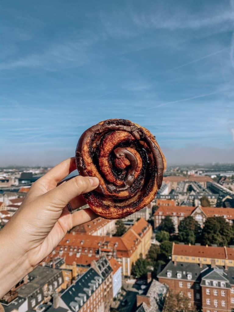Danish pastry in Denmark