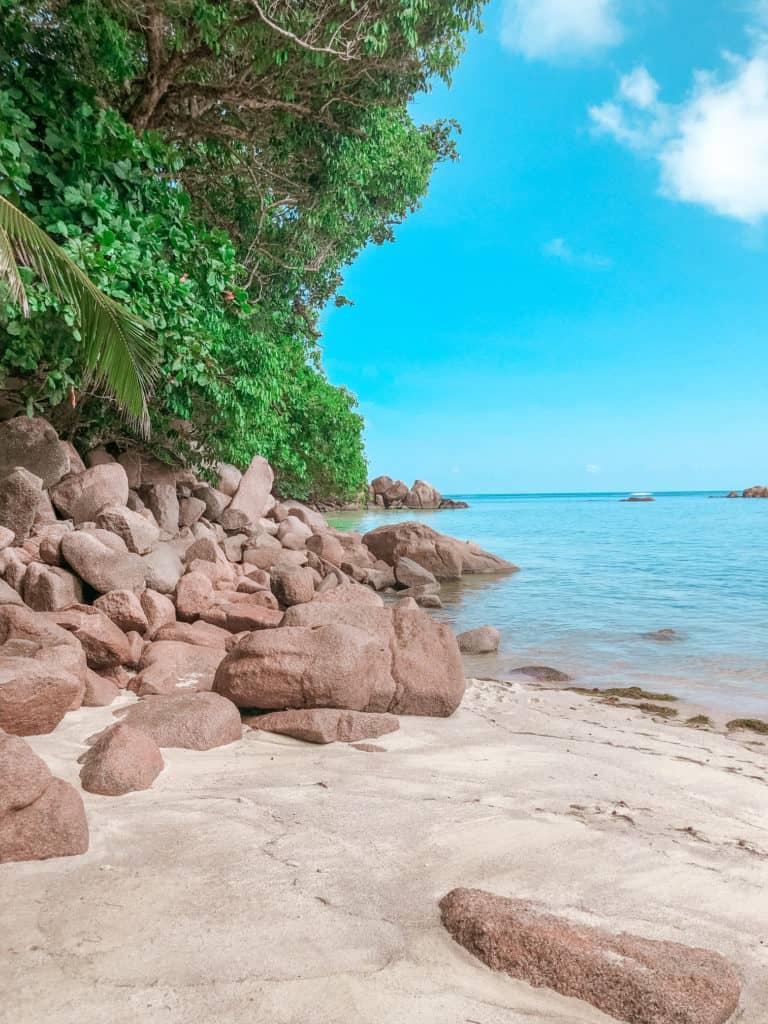 Gorgeous beach next to Fond Ferdinand