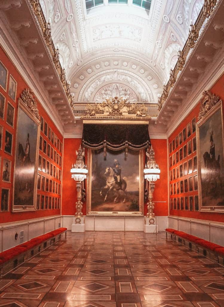 The Hermitage Museum - best things to do in Russia in winter