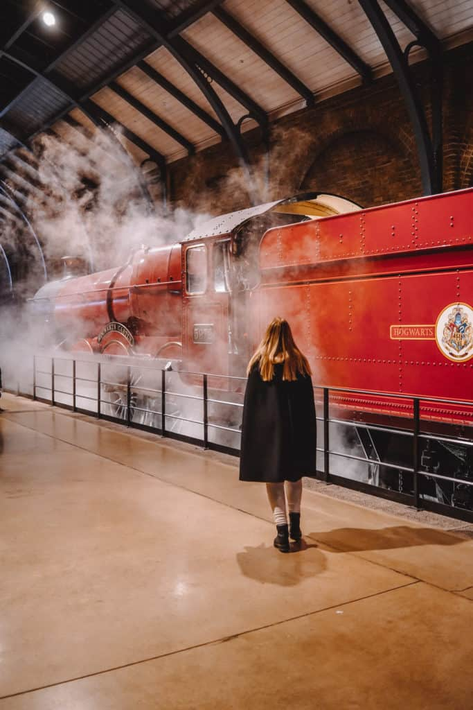 Harry Potter Studios in London  - things to do in London in winter