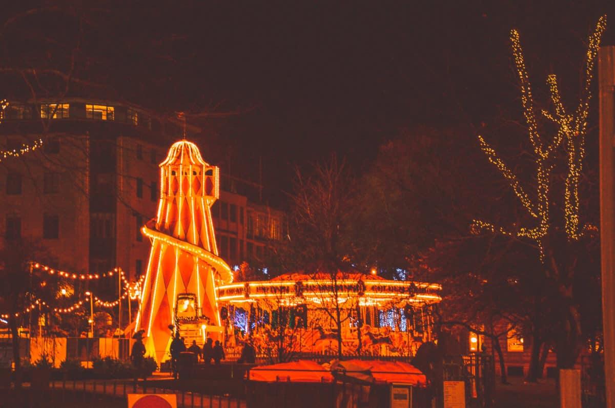 Edinburgh Christmas Market Experience