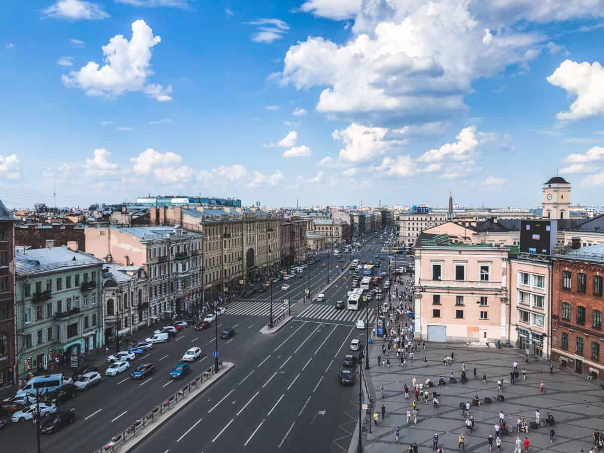 guide to transport in St. Petersburg