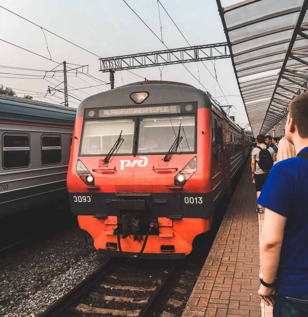 how to buy train tickets in St. Petersburg