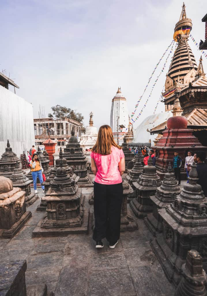 Swayambhunath temple - photography locations in Nepal