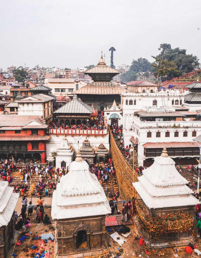Pashupatinath temple - photography locations in Nepal