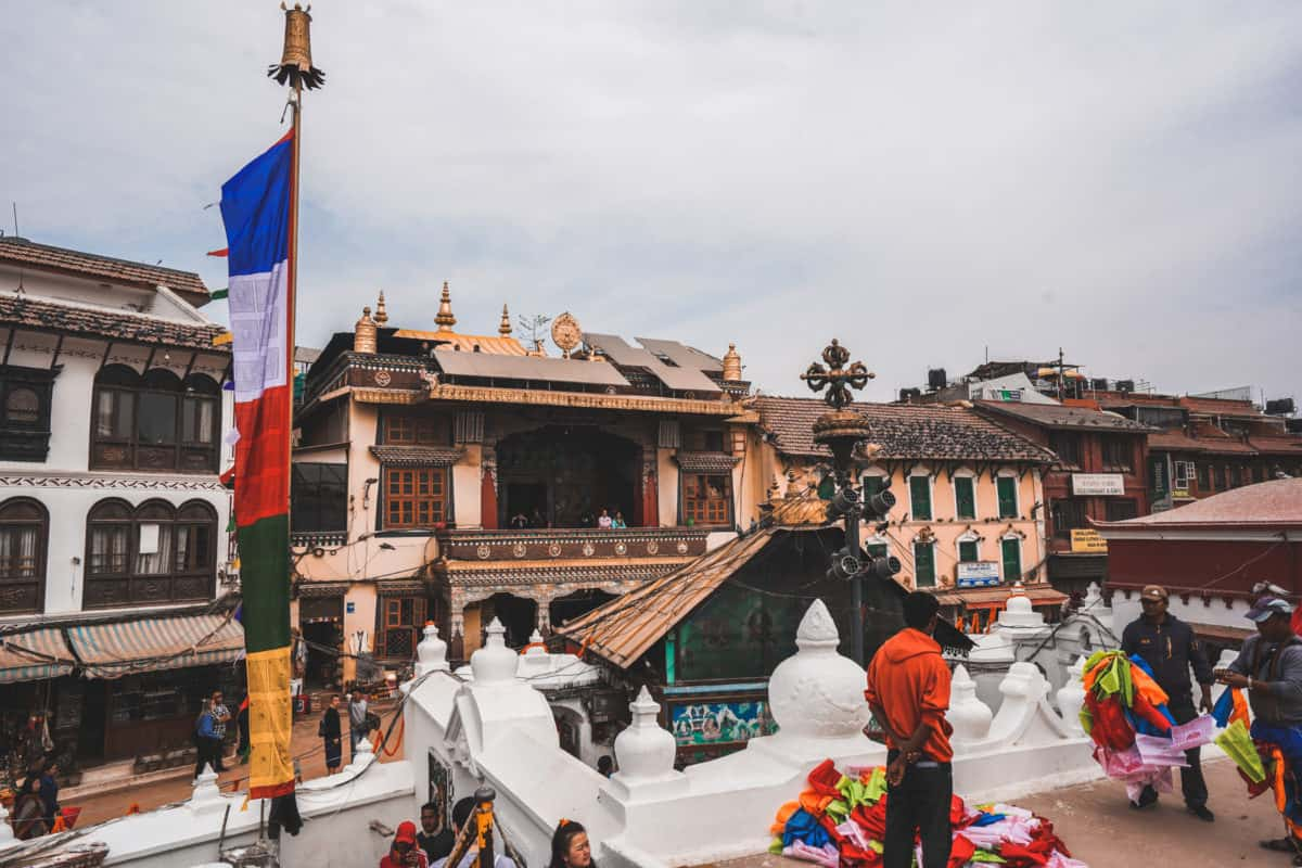 Boudha Stupa - photography locations in Nepal
