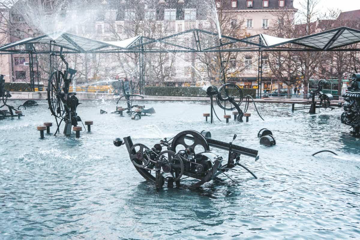 Carnival Fountain in Basel