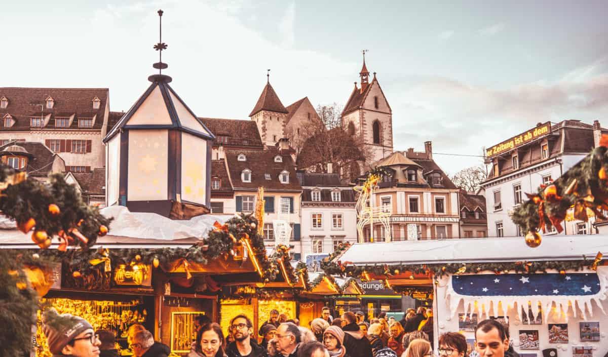 Christmas locations in Basel. Basel Christmas Market