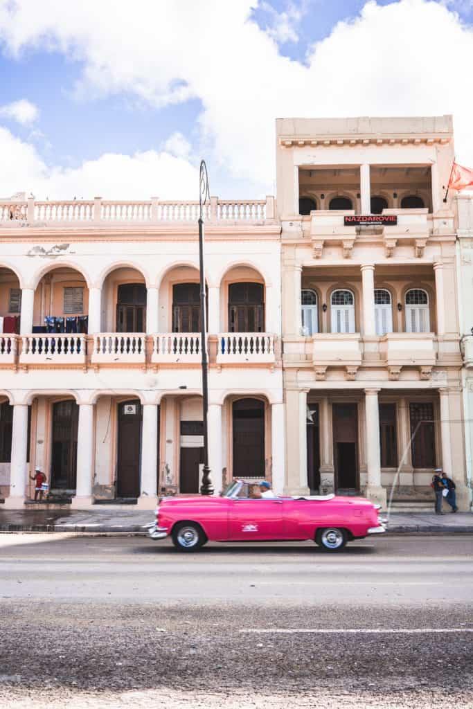 Instagrammable spots in Havana, Cuba