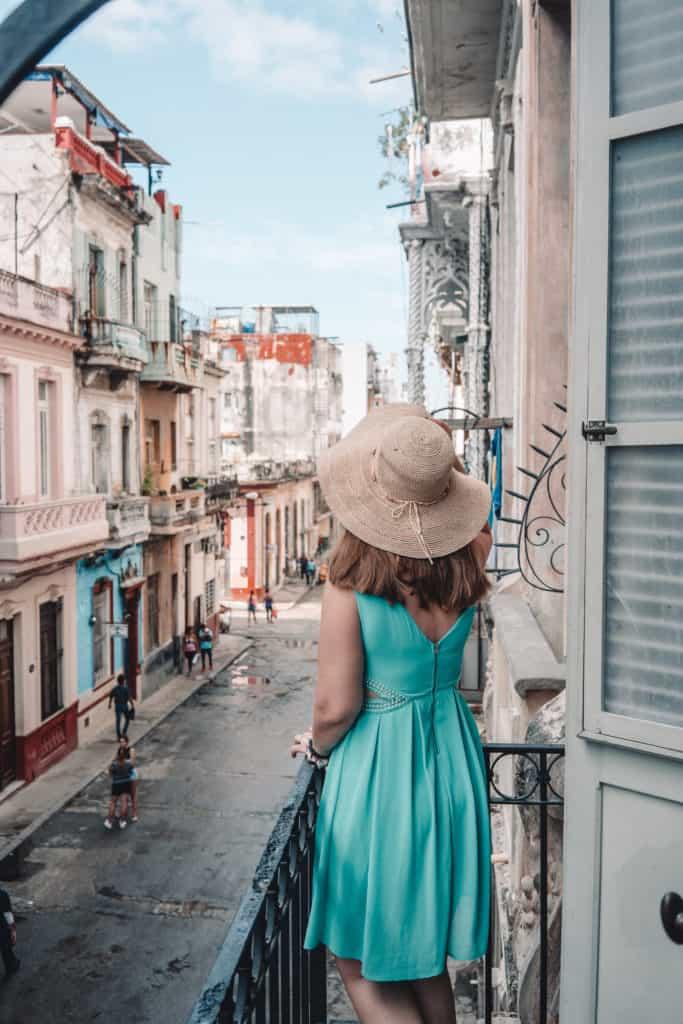 Beautiful places in Havana, Cuba