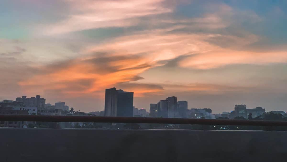 Tránsito en Dhaka