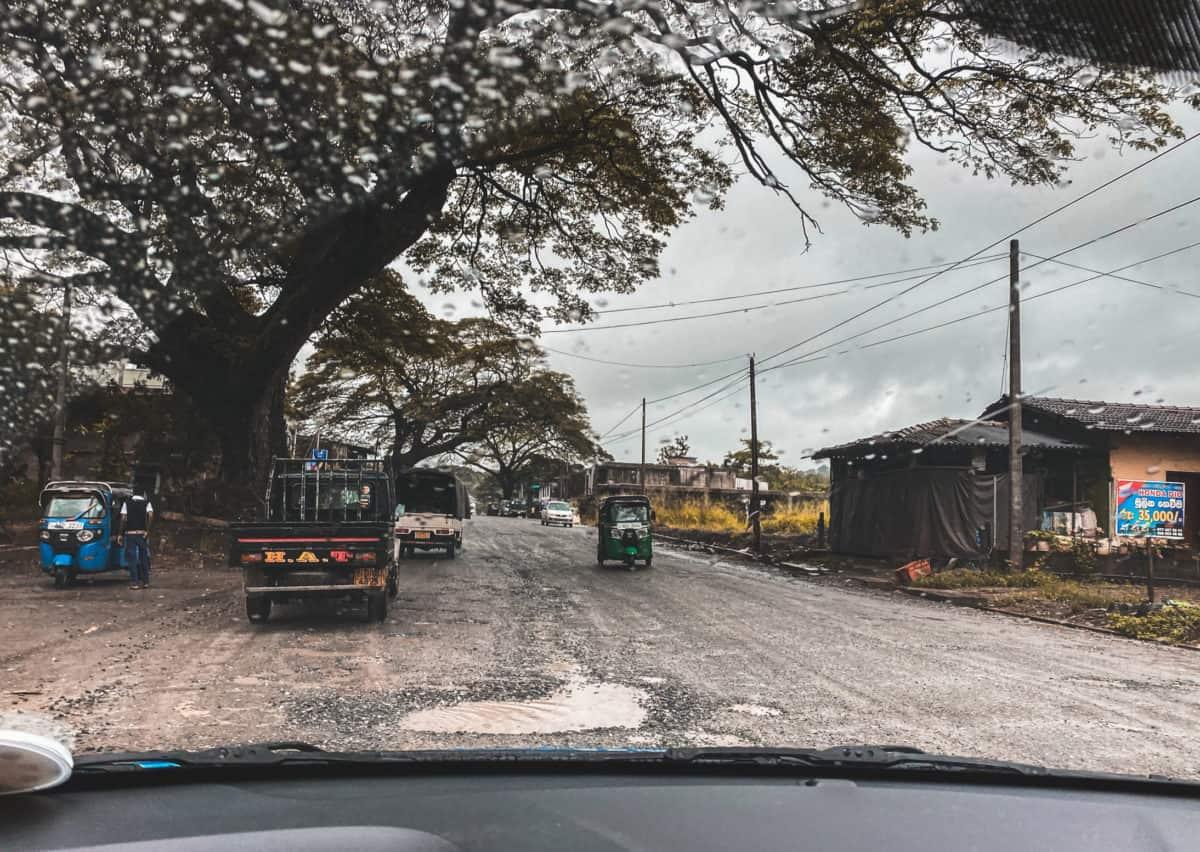 Driving in Sri Lanka