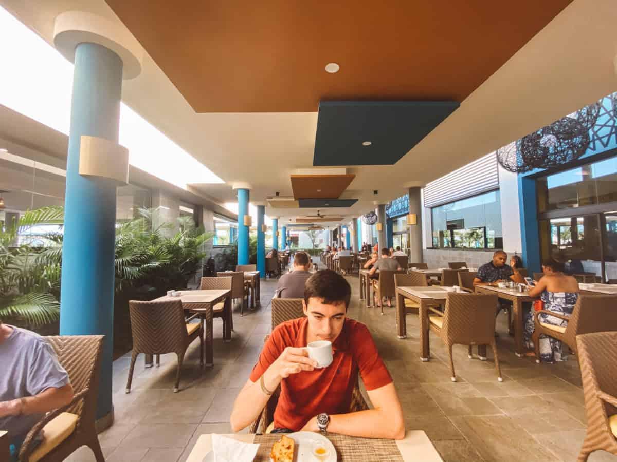 A dining room in Riu Palace Boa vista