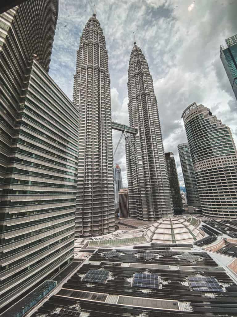 Hotels with the view to Petronas Towers