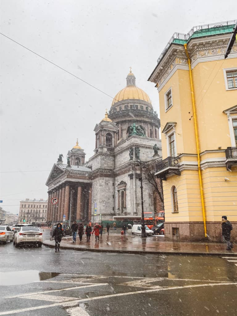 1 week in Russia itinerary