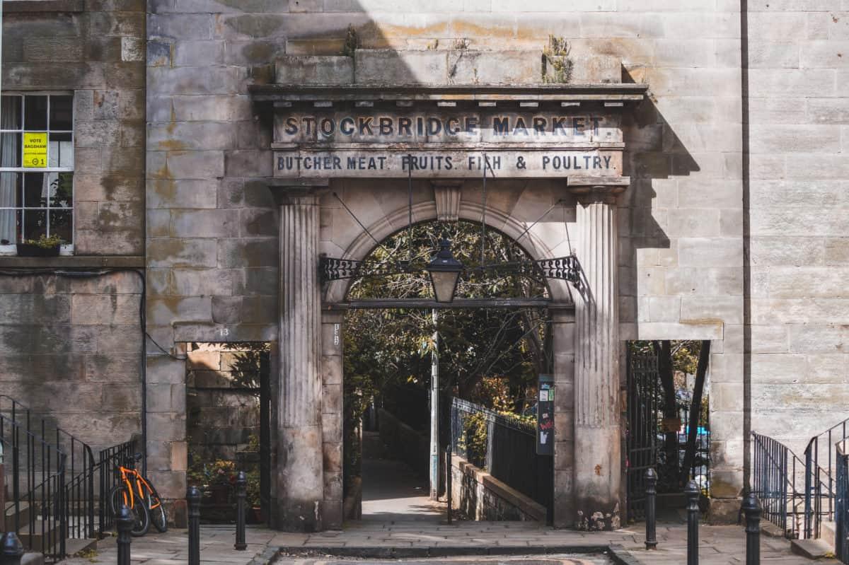 Stockbridge - a lovely place to visit in Edinburgh