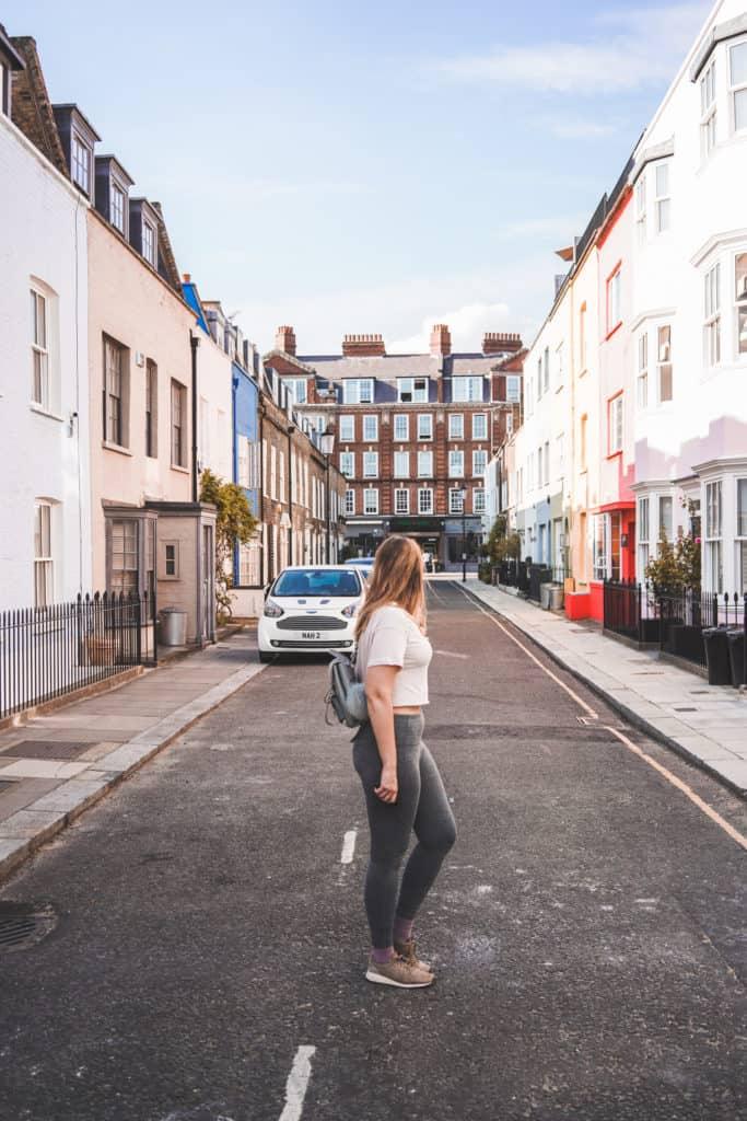 Summer in London: walking around Chelsea, beautiful streets in London