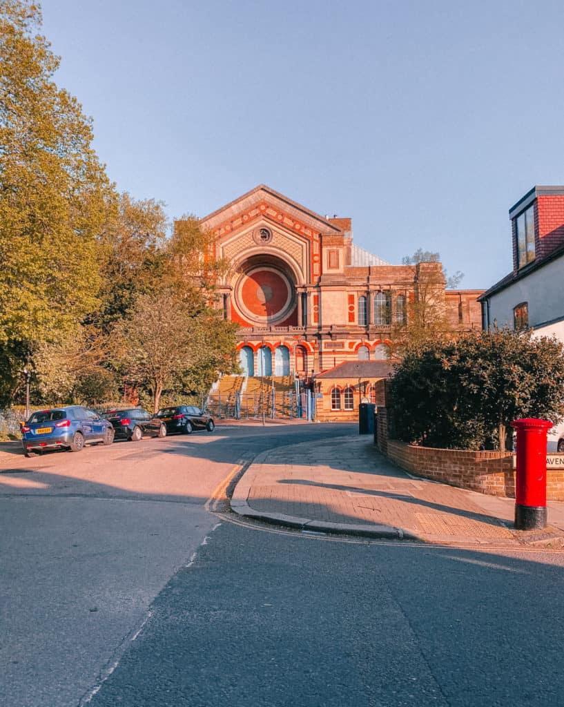 Inside Alexandra Palace, Muswell Hill