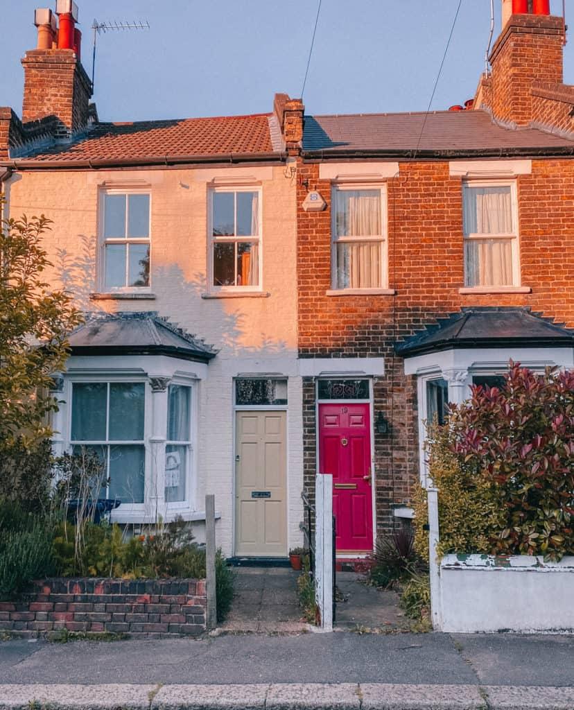 East Finchley - beautiful doors