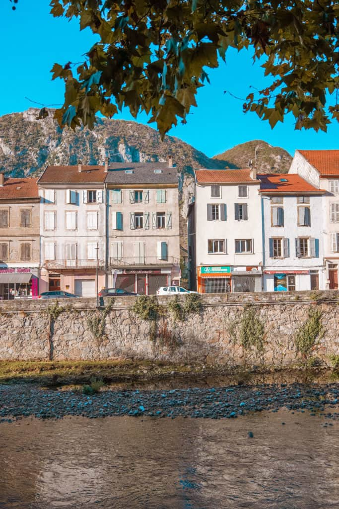 Tarascon-sur-Ariege one of the most beautiful villages in the South of France