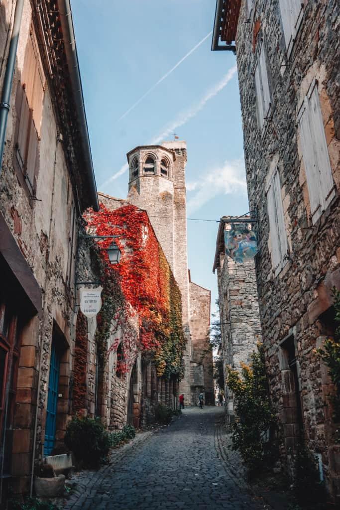 Stunning villages in France: Cordes Sur Ciel. Medieval French Villages