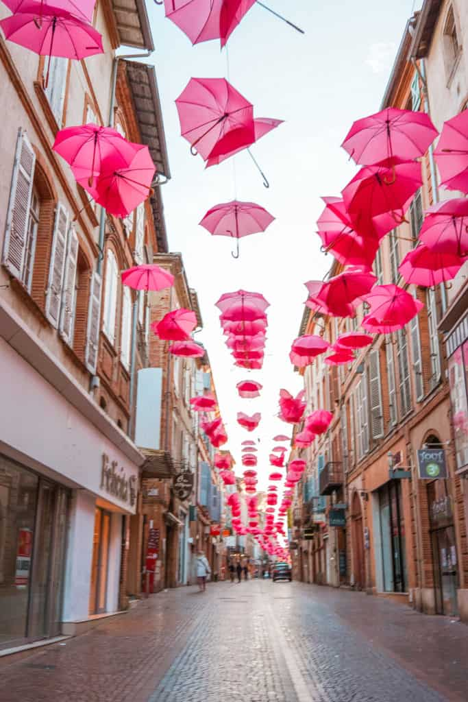 Montauban, France. Charming towns in France