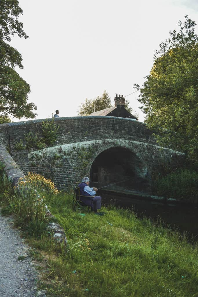 Little bridge in the countryside