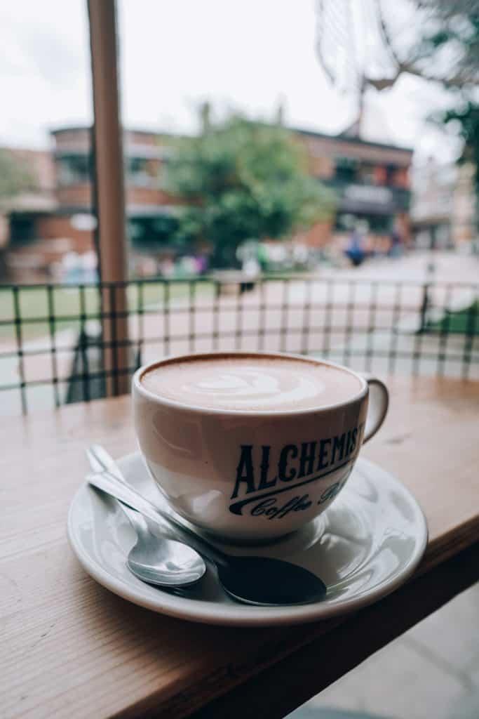 Norwich coffee shops Alchemista