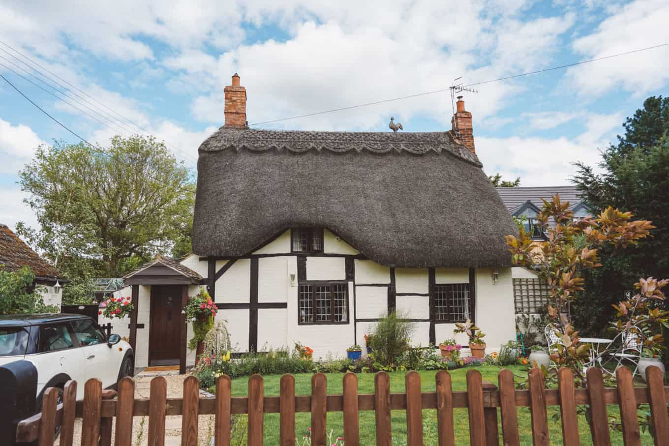 Welford-on-Avon the prettiest thatched village in England