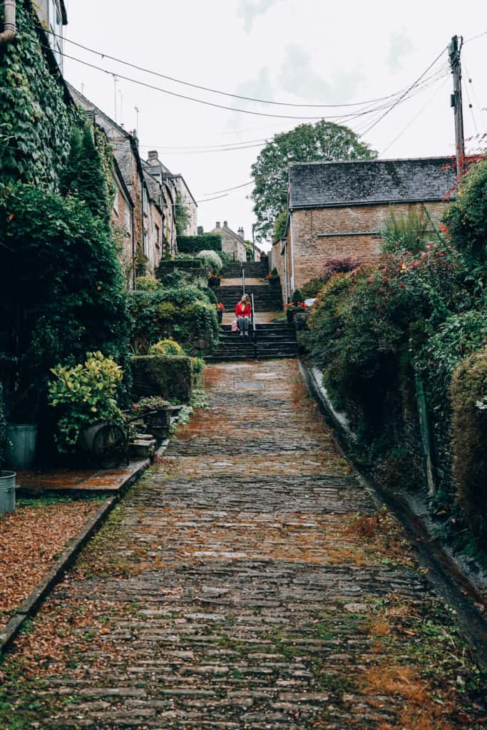Tetbury - chipping steps